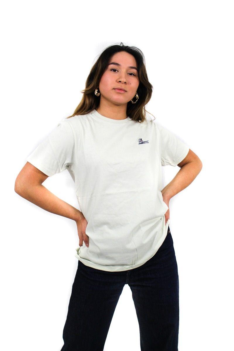Ski t-shirt - Space SKI - Beige - Unisex