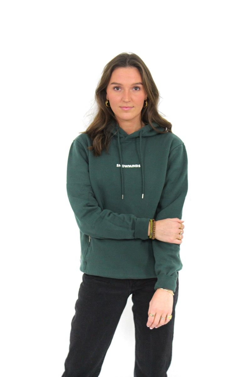 Snowminds Hoodie - Army - Unisex